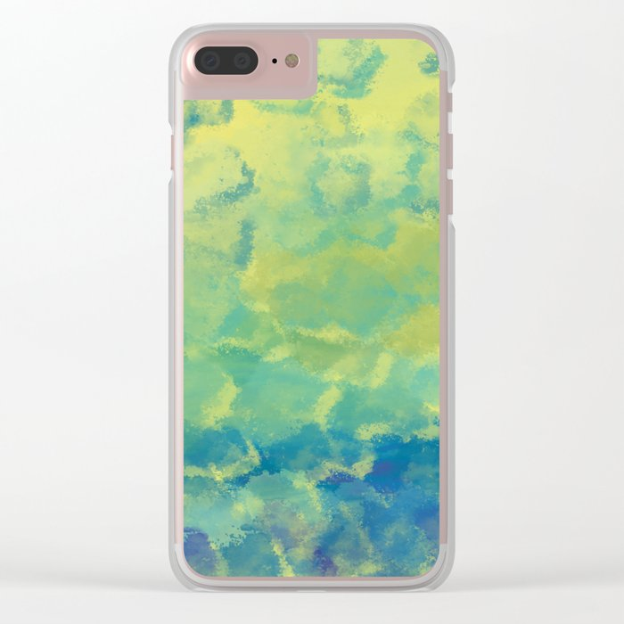 Watercolor Splash #1 #art #society6 Clear iPhone Case