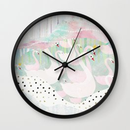 on parade Wall Clock