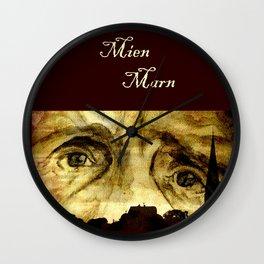 August - Mien Marn Wall Clock
