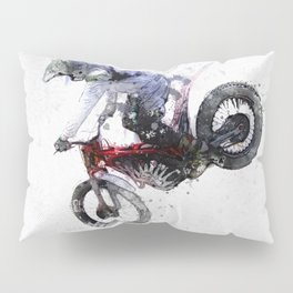 Nose Stand - Motocross Move Pillow Sham
