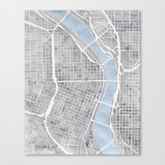 Portland Oregon Canvas Print