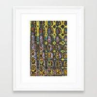 mod Framed Art Prints featuring Mod by Stephen Linhart