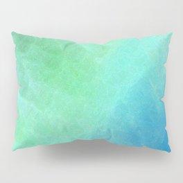 Crystalline in Blue Green Pillow Sham