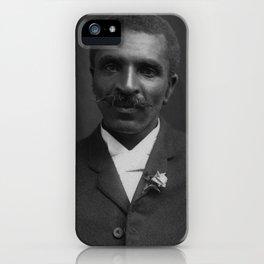 George Washington Carver Portrait iPhone Case