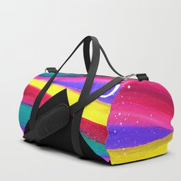 Moonlight Magic - Pyramids Silhouette Duffle Bag
