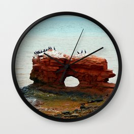 Sandstone Formation in PEI Wall Clock