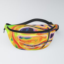 Abstract basketball #2 Fanny Pack