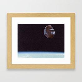 Still Gorilla Framed Art Print