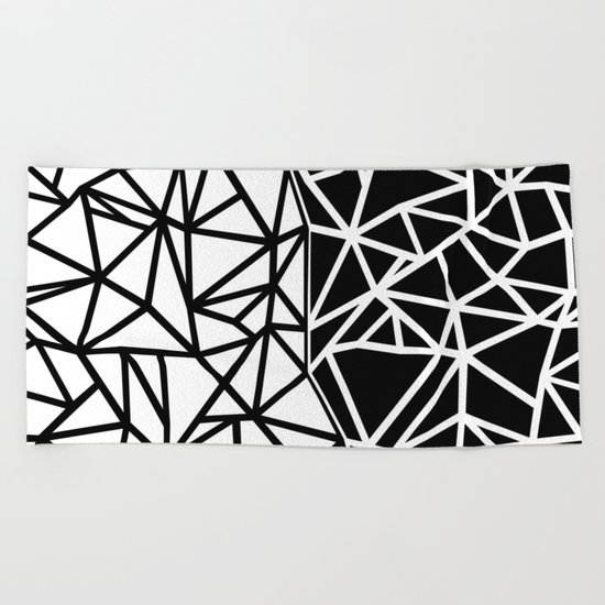 Ab Split Beach Towel