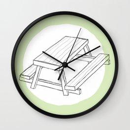 Picnic Wall Clock