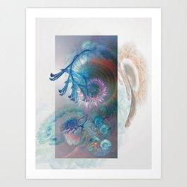Angel's Garden Art Print