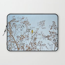 little yellow bird Laptop Sleeve