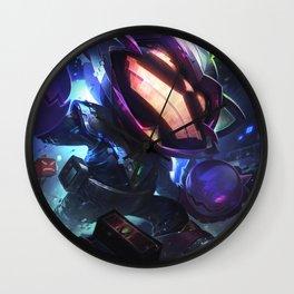 Battle Boss Ziggs League of Legends Wall Clock