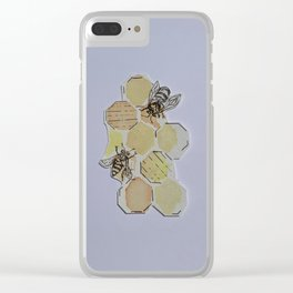 We Were Always Meant to Bee Clear iPhone Case