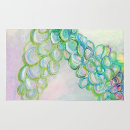 Moving In Different Directions, Abstract Painting Rug
