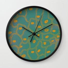 SKin Cells Wall Clock
