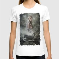 mother of dragons T-shirts featuring Mother of Dragons by Flo Tucci