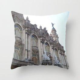 Downtown Havana Throw Pillow