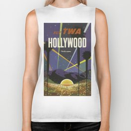 Vintage poster - Hollywood Biker Tank