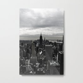 NYC (old black&white) Metal Print
