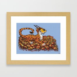 Hot Cheeto Hoard Framed Art Print