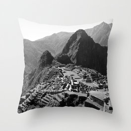 Machu Picchu v.2 Throw Pillow