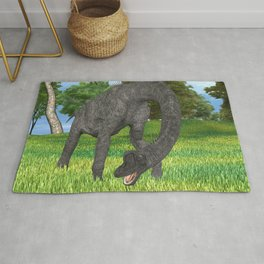 Dinosaur Brachiosaurus Rug