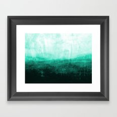 Paint 8 abstract minimal modern water ocean wave painting must have canvas affordable fine art Framed Art Print