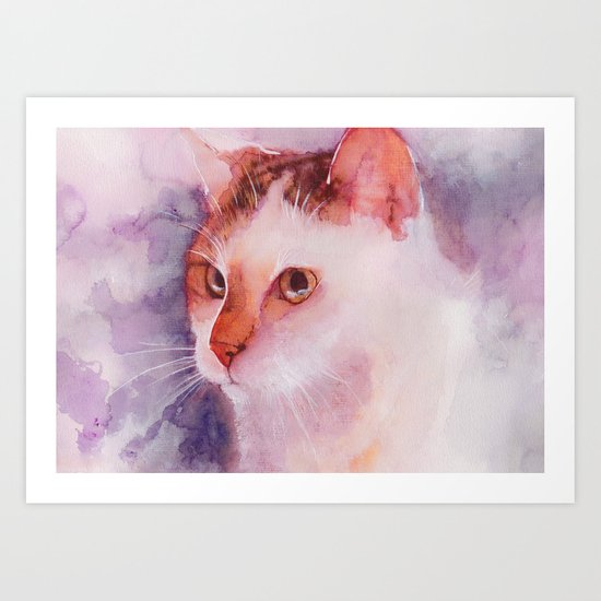 Soft fur Art Print