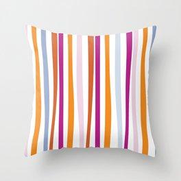 Bamboo Stripes Throw Pillow