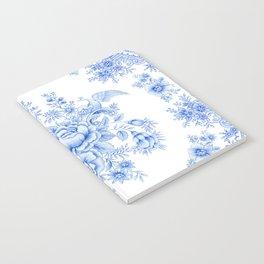 Blue aisiatic pheasant Notebook