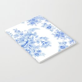 Blue asiatic pheasant Notebook