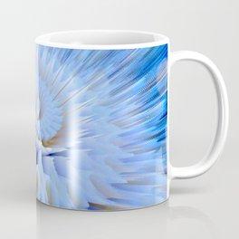 Blue 3D essence of a mandala Coffee Mug