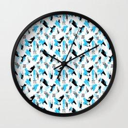 Immature Ocean Wall Clock
