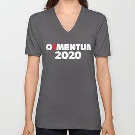 Womens JOEMENTUM 2020 - Joe Biden for President V-Neck product Unisex V-Neck