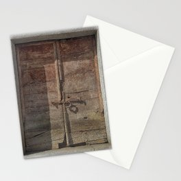 OLD DOOR 01 Stationery Cards