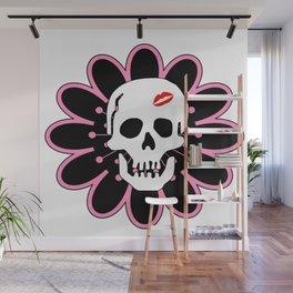 Kiss my Skull Wall Mural