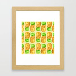Sweet Pineapples  Framed Art Print