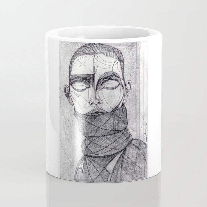 Alisa Ahmann by Txema Yeste - Artist: Leon 47 ( Leon XLVII ) Coffee Mug