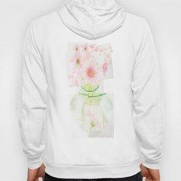 Collage Love - Inspired by David Hockney - Pink Gerberas  Hoody