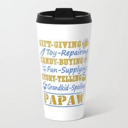 I'M A PROUD PAPAW Travel Mug