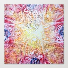 Heat Radiation Canvas Print