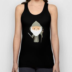 The Grey Unisex Tank Top