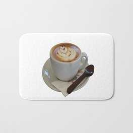 Americano Coffee Vector Bath Mat