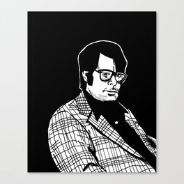 Stephen King Canvas Print