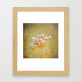 The Queen - Square Framed Art Print