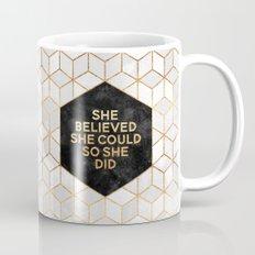 She believed she could so she did 2 Mug