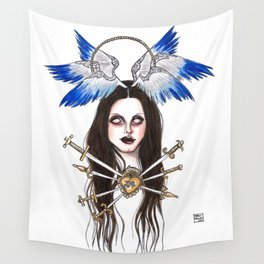 Lady of Sorrows Wall Tapestry