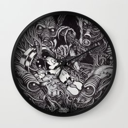 Alien Abduction - The Mouse Wall Clock