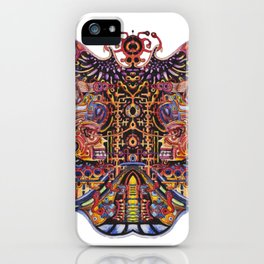 brain cell iPhone Case